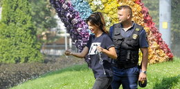 Edyta Górniak zatrzymana przez straż miejską