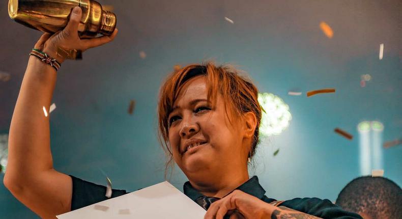 Angeliqua Rivera, World Class Bartender of the Year 2019. (Capital FM)
