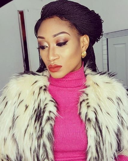 Oge Okoye has been accused of having affairs with married men and her friend's former husband, Prince Walter Ogochukwu Igweanyiba[Instagram/OgeOkoye]