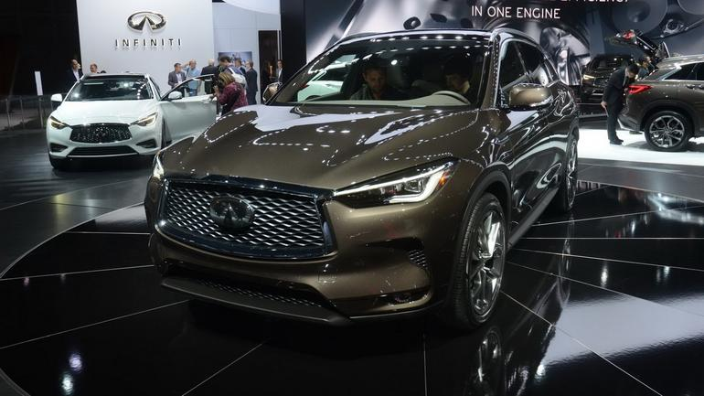 Infiniti QX50 w Los Angeles