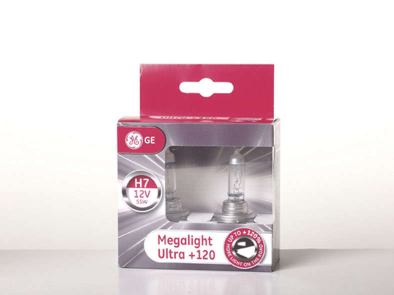 GENERAL ELECTRIC MEGALIGHT ULTRA +120%