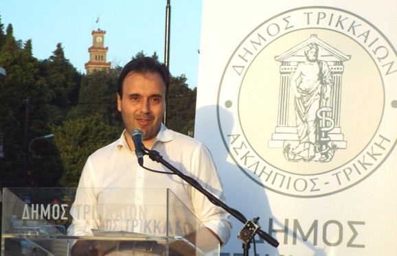 Gradonačelnik Trikale Dimitris Papstergiju