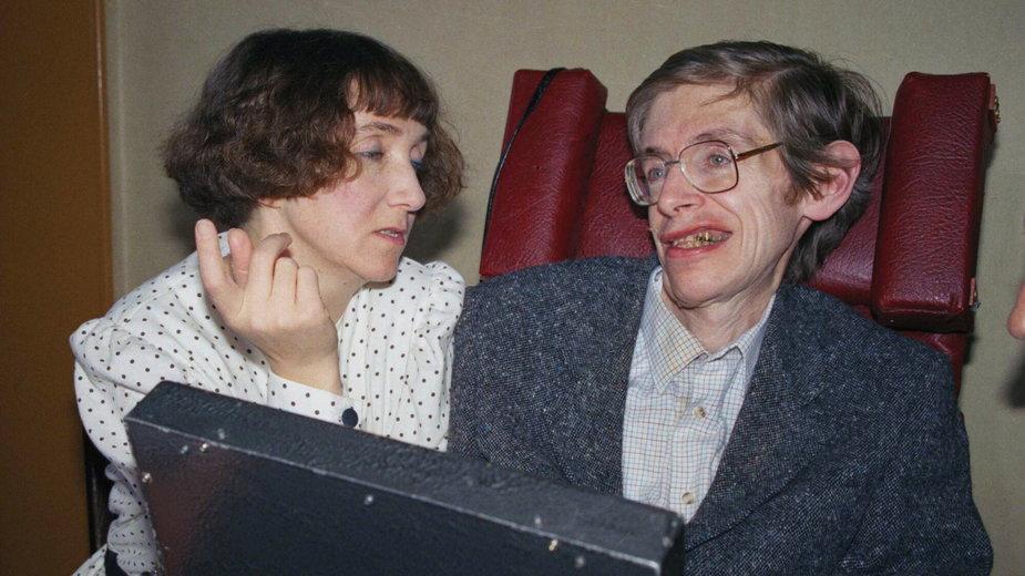 Jane Hawking i Stephen Hawking byli małżeństwem przez 30 lat