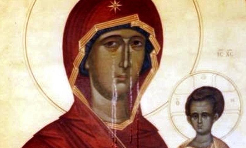W Rosji i na Ukrainie płaczą święte ikony!