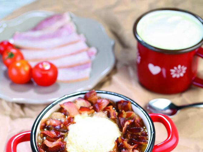 Sa slaninicom je kačamak poseban delikates!