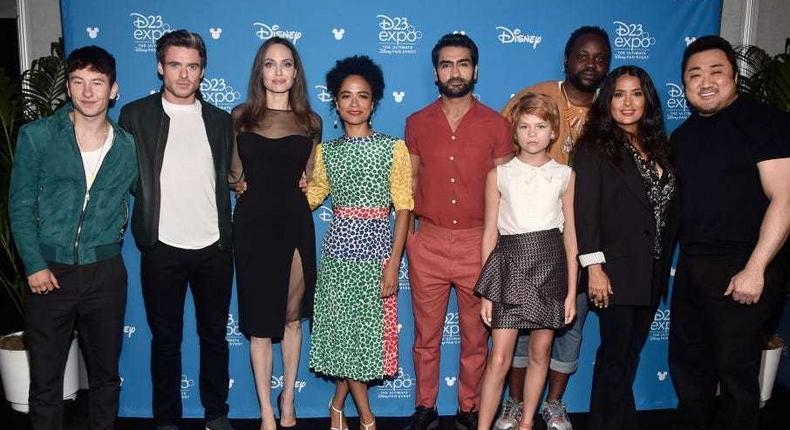 The cast of Disney's Eternals.