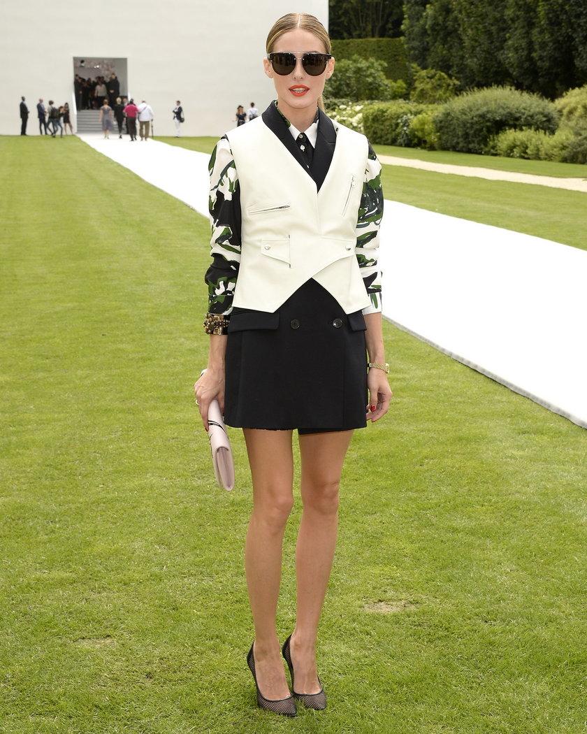 Olivia Palermo w kwiecistej sukience