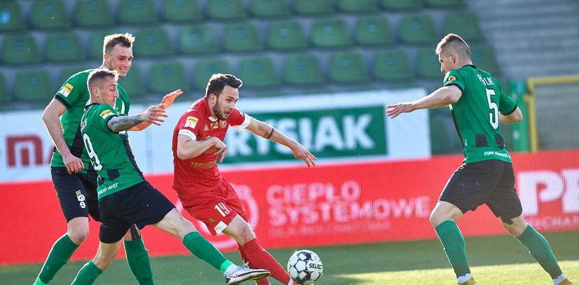 Fortuna 1 Liga. Widzew wreszcie wygrywa po bitwie z GKS-em Bełchatów