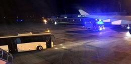 Awaria samolotu z Angelą Merkel na pokładzie