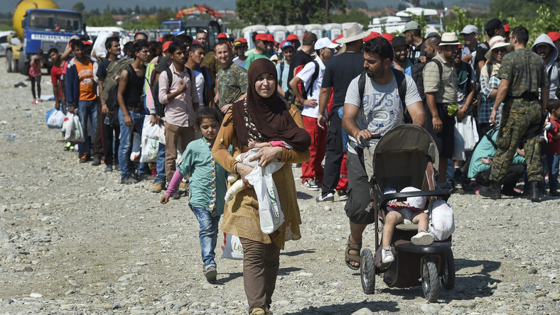 FYROM EUROPE MIGRATION (Migrants pass through Macedonia on their way to EU countries )