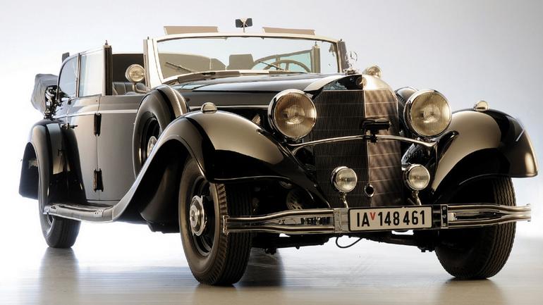 Mercedes 770 na aukcji w Arizonie