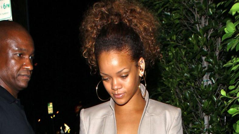 Rihanna została okrutnie pobita przez swojego chłopaka Chrisa Browna