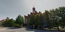 Makabra w Ostrowcu Świętokrzyskim. Niedaleko kościoła znaleziono ciało młodego mężczyzny