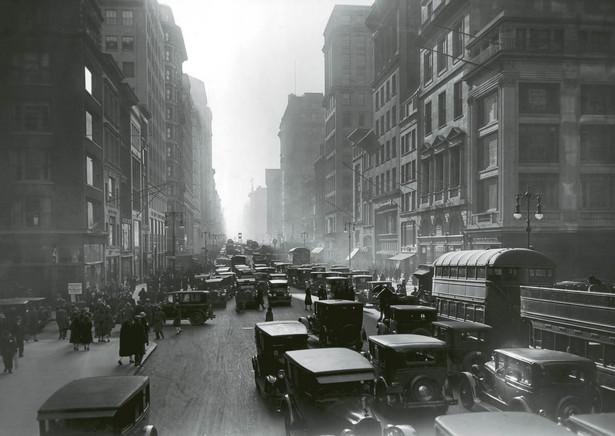 Midtown Manhattan, Nowy Jork, lata 20.