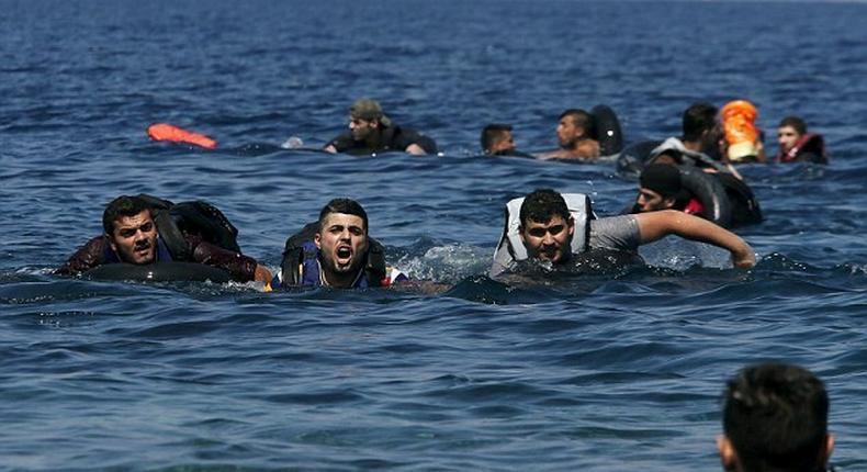 Eight migrants drown after boat sinks off Greek island: coastguard