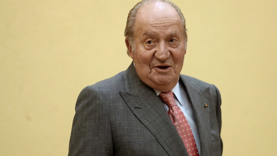 Były król Hiszpanii Juan Carlos