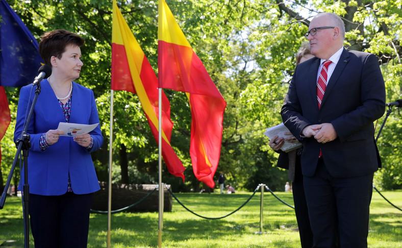 Wiceszef KE i prezydent Warszawy