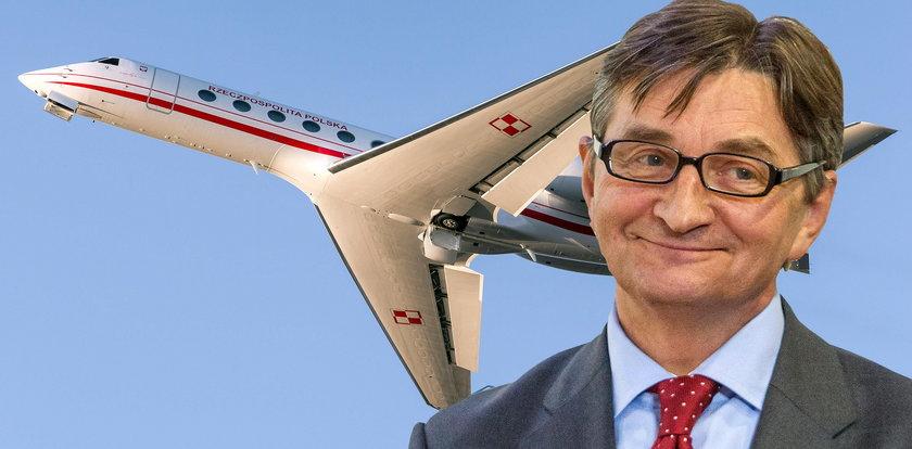 Dokumentacja lotów Kuchcińskiego została zniszczona