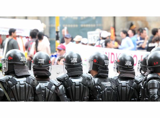 Kolumbia, zamieszki w Bogocie