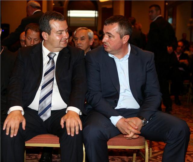 Spremni za departizaciju: Dačić i Bajatović