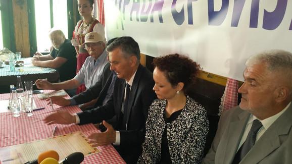 Stamatović, Paroški, Ršumović: Osnivačka skupština ZS na Vidovdan