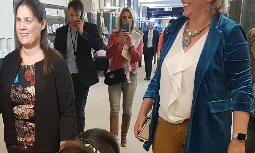 Niecodzienny gość w europarlamencie