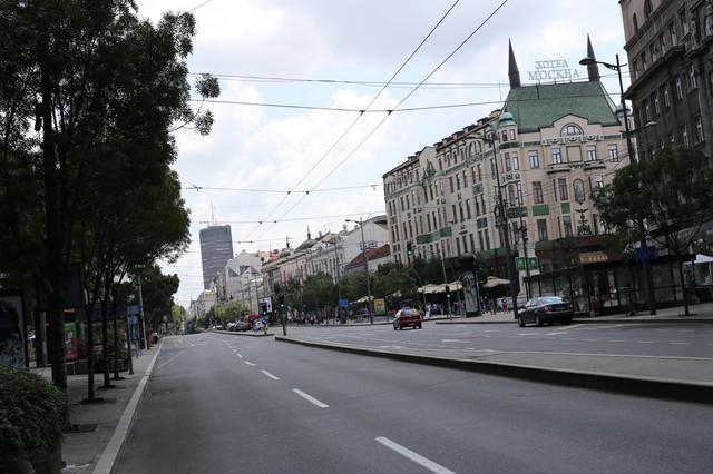 Beograd u vreme meča