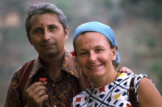 Krystyn z żoną Małgorzatą