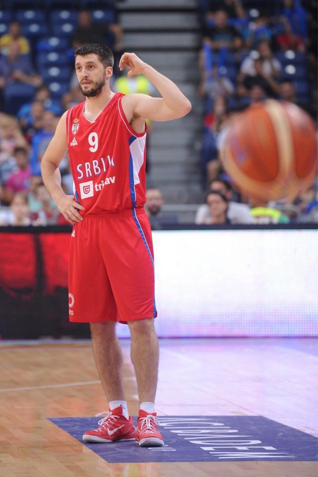 Stefan Marković u dresu reprezentacije Srbije