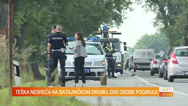 Saobraćajna nesreća, Batajnica