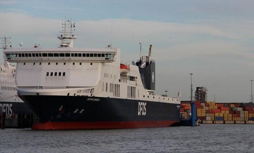 Pożar promu na Bałtyku. Na pokładzie ponad 300 osób