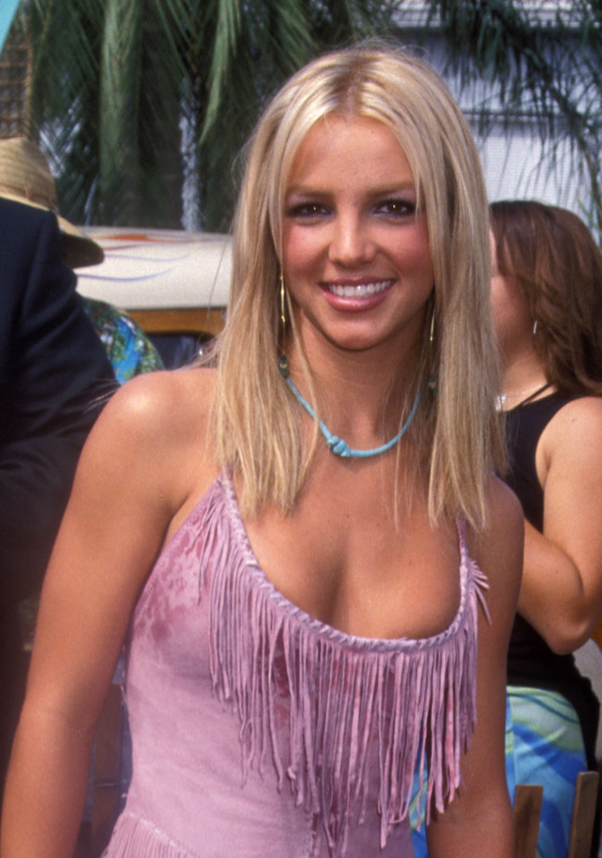 Britney Spears na gali Teen Choice Awards w 2000 r.