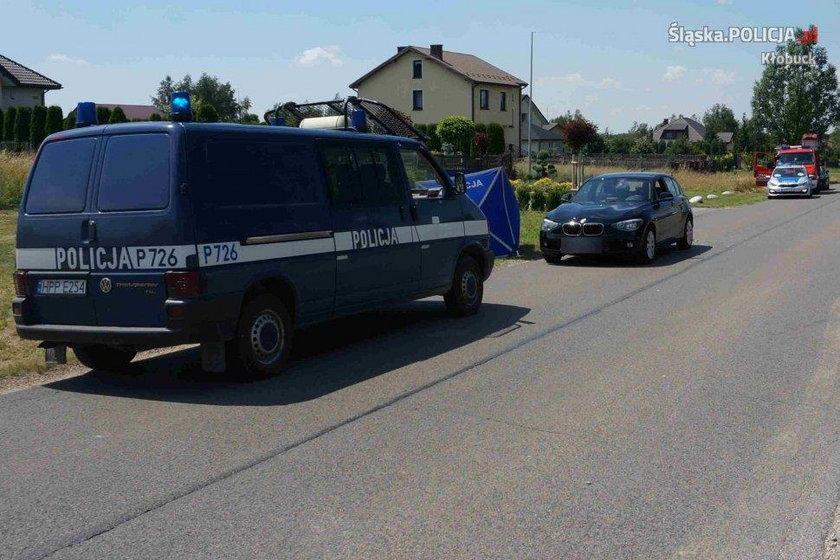 Wypadek w Kłobucku