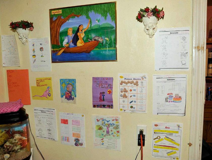Rysunki na ścianie