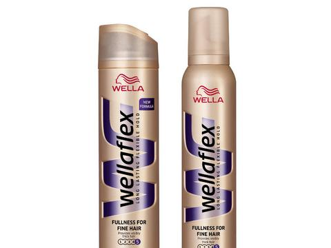Wellaflex Fullness For Fine Hair Lakier I Pianka