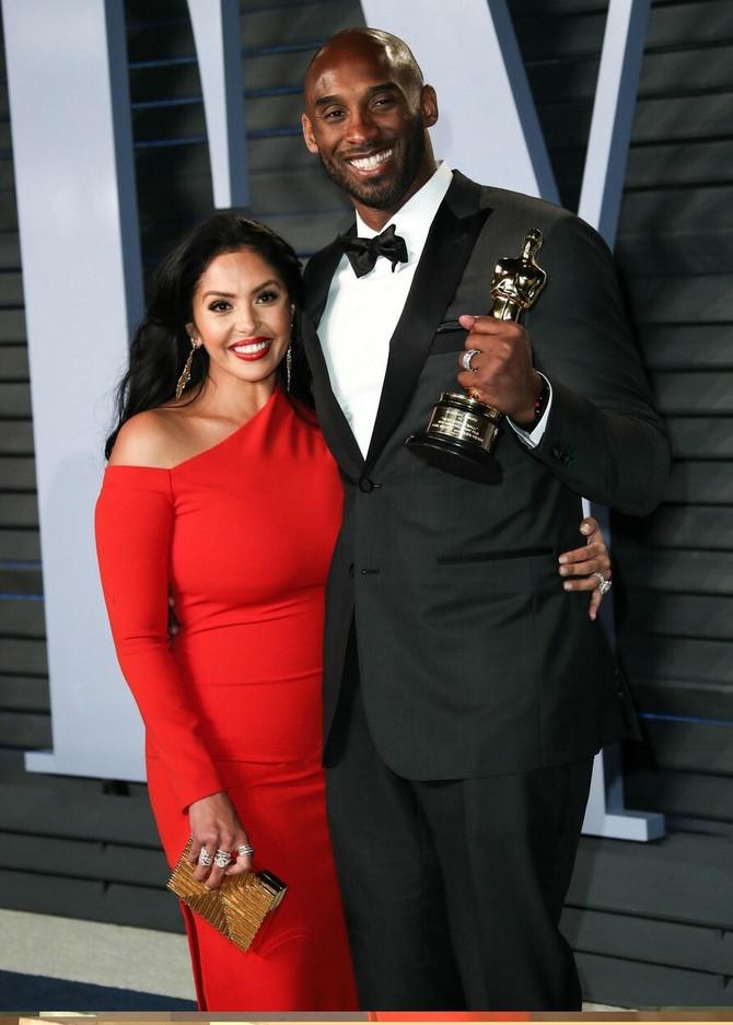 Vanesa i Kobi nakon dodele Oskara na zabavi Veniti fera 2018. u Los Anđelesu
