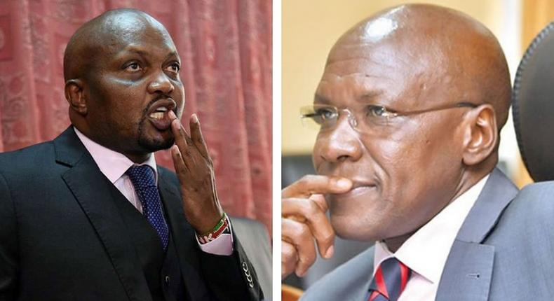 Stop listening to your Koinange street girlfriends – Moses Kuria clashes with Boni Khalwale on live TV