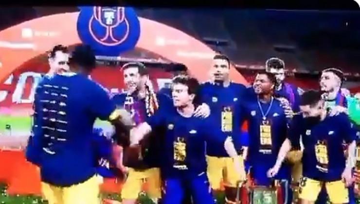 Proslava igrača Barselone