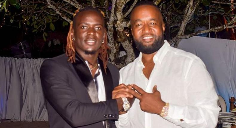 Willy Paul with Joho. I wish my dad was alive to see what I've become – Willy Paul