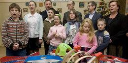 Politycy kupili dzieciom prezenty