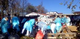 Dyrektorka wysłała pielęgniarki do segregowania śmieci