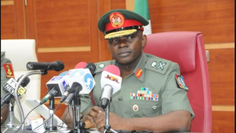 Army spokesperson John Agim blames State governors for the herdsmen crisis plaguing Nigeria