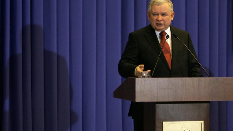 Kaczyński: Premierze, nie zaczynaj wojny!