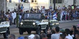 Kuba żegna dyktatora. Urna z prochami pokona tysiące kilometrów