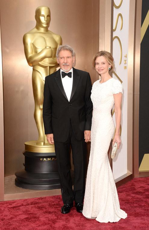 Harrison Ford i Calista Flockhard