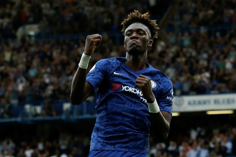 Tammy Abraham has scored nine goals for Chelsea this season