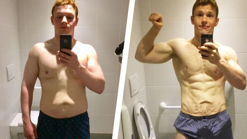 A Strict Diet Helped This Guy Lose 35 Pounds