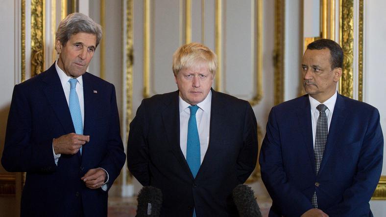USA i W. Brytania wzywają do pilnego rozejmu w Jemenie