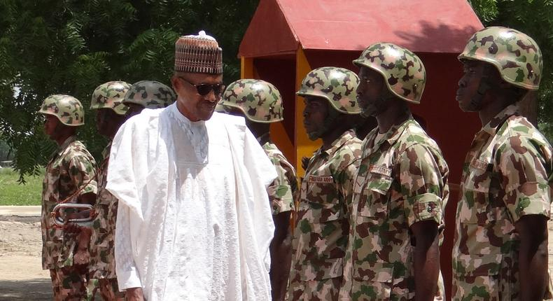 We're taking fight to bandits, terrorists as army recruits 17,000 – Buhari