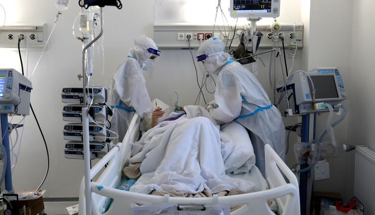 koronavirus Batajnica bolnica 2 foto RAS Djordje Kojadinovic